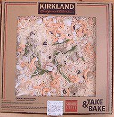 (名無し)さん[2]が投稿したカークランド テイクベイク 丸型ピザ シーフードの写真