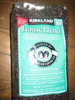 ぽちこさん[7]が投稿したカークランド スターバックスローストハウスブレンドコーヒーの写真