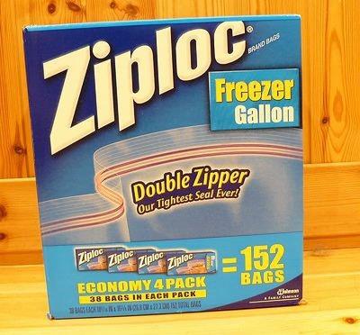 (名無し)さん[1]が投稿したジップロック(Ziploc) フリーザーガロンの写真