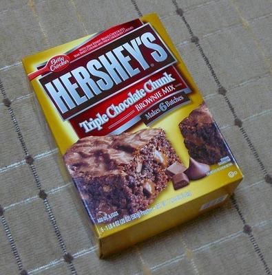ハーシーズ トリプルチョコレートチャンク ブラウニーミックス