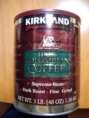 カークランド コロンビア レギュラーコーヒー