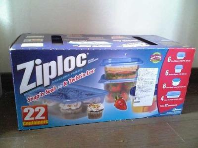 ジップロック(Ziploc) マルチパック コンテナ 22