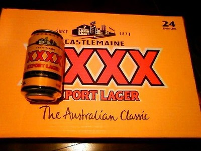 XXXX Export Lager Beer