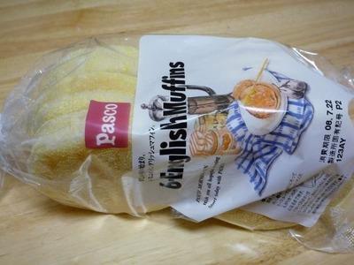 パスコ イングリッシュマフィン Pasco English muffins