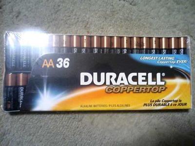 デュラセル アルカリ単三乾電池 36本パック