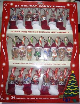 24 HOLIDAY CANDY CANES