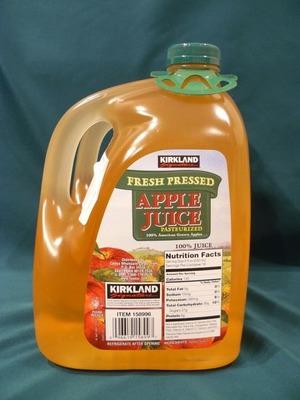カークランド アップルジュース 3.79L×2
