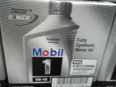 モービル1 100%化学合成エンジンオイル 0W-40