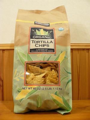 (名無し)さん[1]が投稿したカークランド オーガニック トルティーヤ チップスの写真