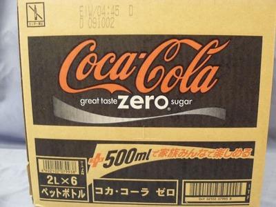 コカ・コーラ ダイエットコカコーラ 2L×6