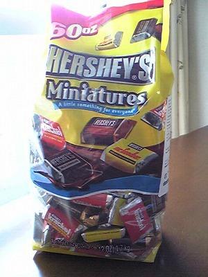ハーシーズ ミニチュア チョコレート HERSHEYS MINIATURES