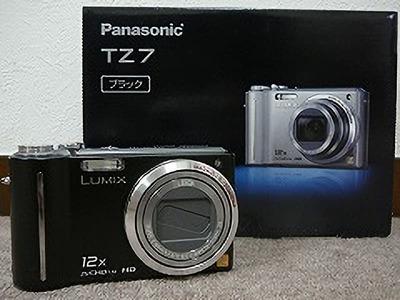 パナソニック デジタルカメラ LUMIX TZ7 (DMC-TZ7)