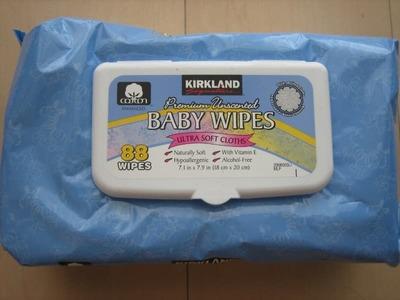 ぽちこさん[1]が投稿したカークランド ベビーワイプ (乳児用おしり拭き)の写真