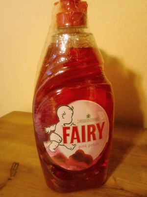 P&G UK FAIRY pink petals 食器用洗剤