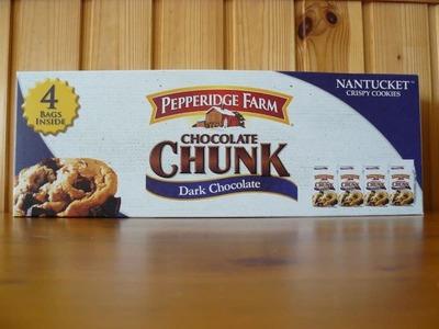 ペパリッジファーム チョコレート チャンク バリューパック(4個入り)