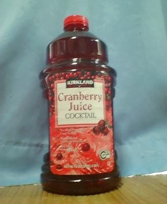 カークランドクランベリージュース果汁30%