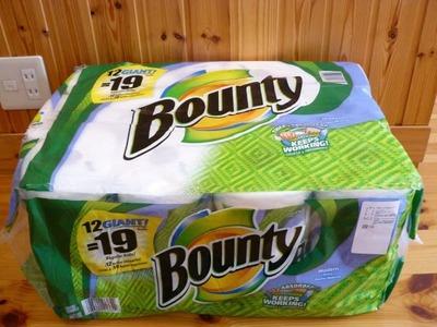 (名無し)さん[51]が投稿したBOUNTY バウンティー ペーパータオルの写真