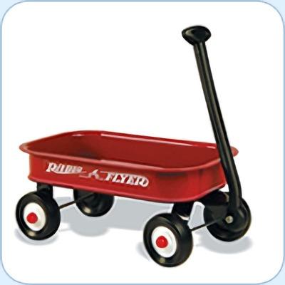 (名無し)さん[1]が投稿したラジオフライヤー #5Little Red Wagonsの写真