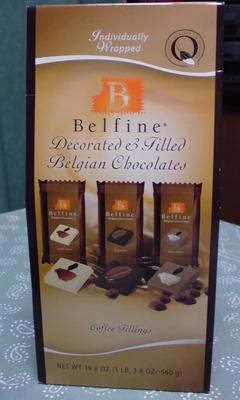 Belfine(ベルファイン) Decorated & Filled Belgian Chocolates