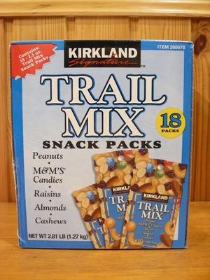 (名無し)さん[17]が投稿したカークランド TRAIL MIX SNACK PACKS トレイルミックス スナックパックの写真