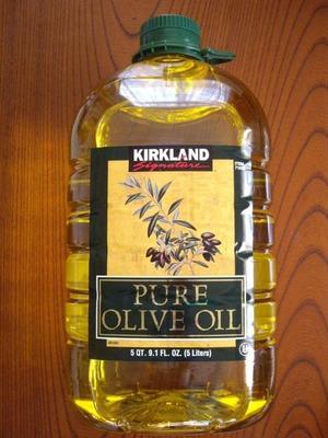 (名無し)さん[1]が投稿したカークランド ピュアオリーブオイル PURE OLIVE OILの写真