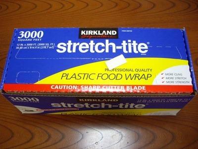 カークランド stretch-tite プラスチック フードラップ 30.48cm×914.4m