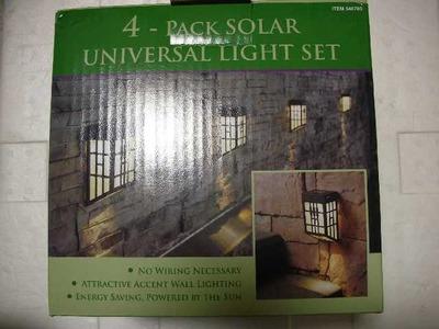 4個セット ソーラー ユニバーサル ライト セット (4-PACK SOLAR UNIVERSAL LIGHT SET)