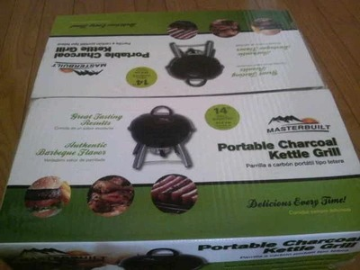 Portable Charcoal Kettle Grill(MASTERBUILT)