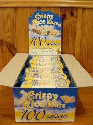 RAPID SNACK Crispy Rice Bars クリスピー ライス バー (マシュマロ入り)