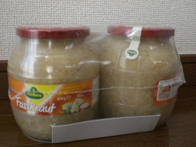 キューネ ザワークラウト850ml(バレル)×2瓶セット