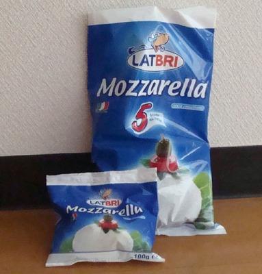 LATBRI モッツァレラチーズ ファミリーパック