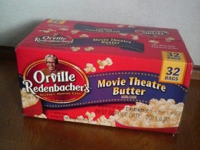 Orville Redenbacher's グルメ ポップコーン ムービーシアターバター 32袋入り
