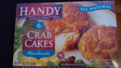 ハンディ クラブケーキ HANDY CRAB CAKES