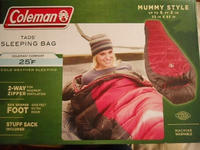 (名無し)さん[1]が投稿したCOLEMAN(コールマン) スリーピングバッグ TAOS mummy sleeping bagの写真