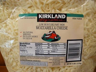 カークランド モッツァレラ チーズ (スライス)