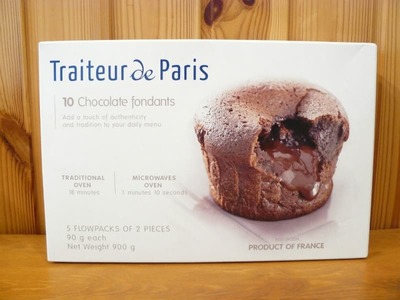 Traiteur de paris 10 チョコレート フォンダン