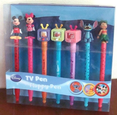 DISNEY ディズニー TV Pen & Floppy Pen