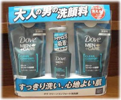 Unilever(ユニリーバ) ダヴ(DOVE) クリーンコンフォート泡洗顔(メンズ)