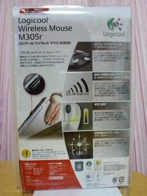 ロジクール ワイヤレスマウス M305r