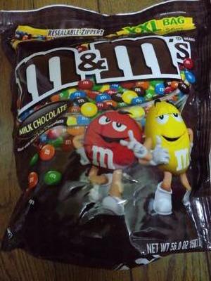m&m's ミルクチョコレート