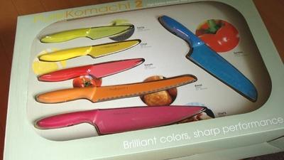 Kai (貝印USA) Pure Komachi2 (包丁6本セット)