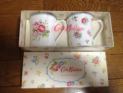 Cath Kidston キャスキッドソン ロイヤル ペア マグカップ