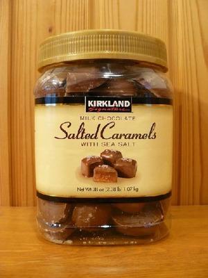 カークランド ミルクチョコレート シーソルト キャラメル