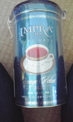 IMPRA TEA アールグレイ オレンジペコ (Big Leaf Tea)
