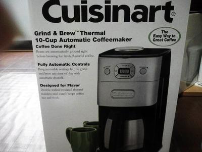 (名無し)さん[1]が投稿したクイジナート オートマチック コーヒーメーカーの写真