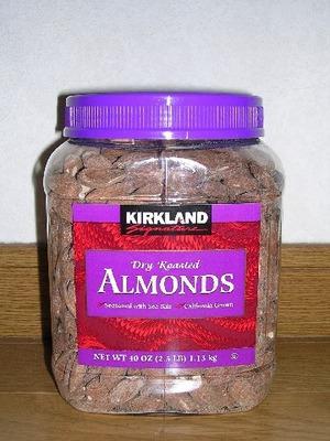(名無し)さん[1]が投稿したカークランド DRY ROASTED ALMONDS (ローストアーモンド)の写真