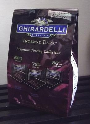(名無し)さん[1]が投稿したGHIRARDELLI(ギラデリ) ダークチョコレート (INTENSE DARK Premium Tasting Collection)の写真