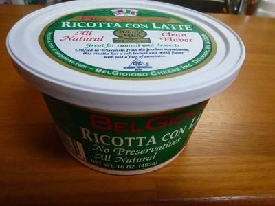 (名無し)さん[2]が投稿したBELGIOIOSO RICOTTA CON LATTE リコッタチーズの写真