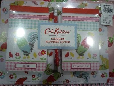 Cath Kidston キャスキッドソン チキン キッチン ノート