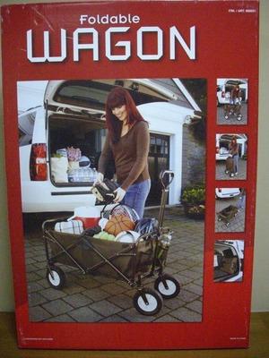(名無し)さん[1]が投稿したFoldable 折りたたみワゴン COLLAPSIBLE WAGONの写真